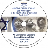 Christian Friends of Israel - 50th Anniversary of the Reunification of Jerusalem
