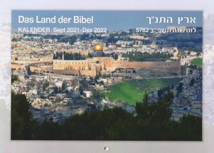 Kalender 2022 - Das Land der Bibel